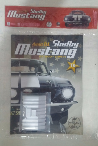 mustang shelby gt-500(1967) - fasciculo 18 - planeta