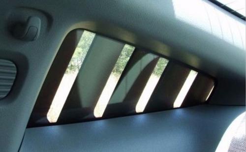 mustang tomas ventanillas aire spoilers louvers 05 09 par