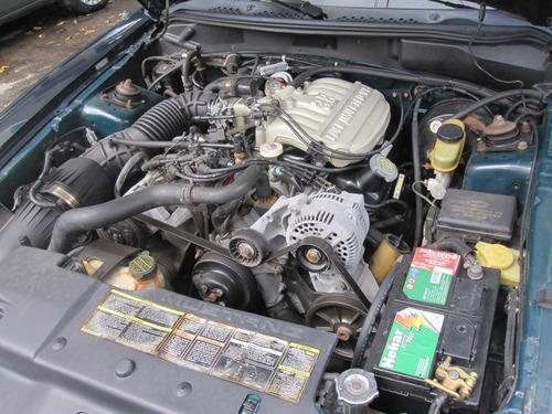 mustang único dono 1994 v6 câmbio mecânico 21.000 milhas