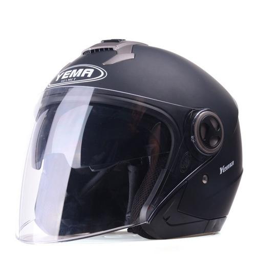 mustang (yema) modelo 623 casco para motocicletas o c bl.ack