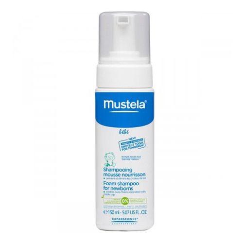 mustela shampoo espuma recém nascido 150 ml 01 unidade