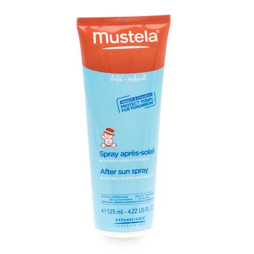 mustela spray para el cuidado después del sol 125ml - barulu