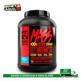 Mutant Mass 7lb Whey Protein Ganador Masa