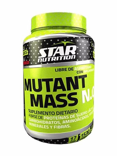mutant mass n.o. star nutrition x 1.5 kg