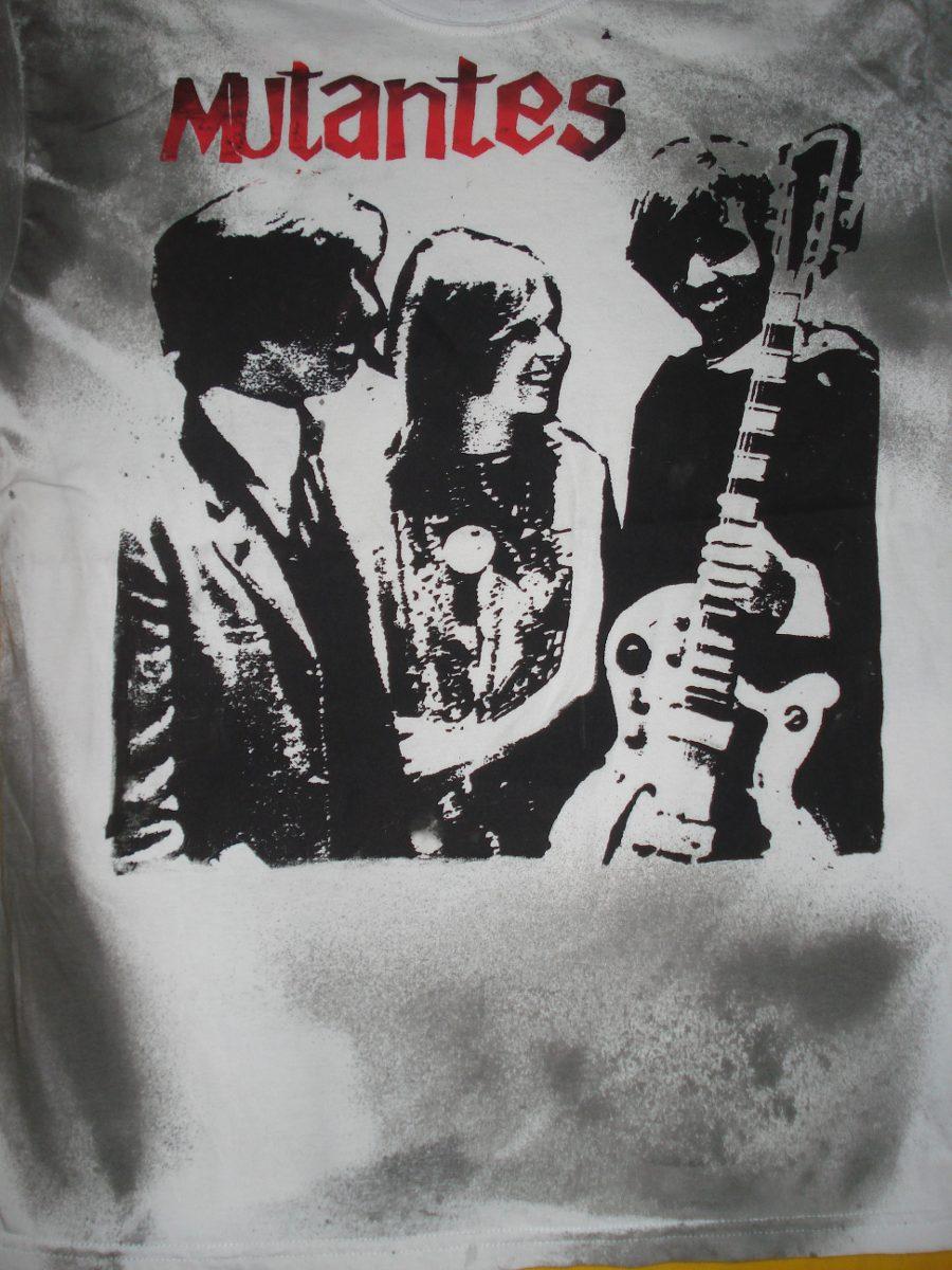 07ba85938 mutantes camiseta estilizada rock algodão fio 30 silks. Carregando zoom.
