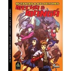 mutantes & malfeitores - mecha  e manga