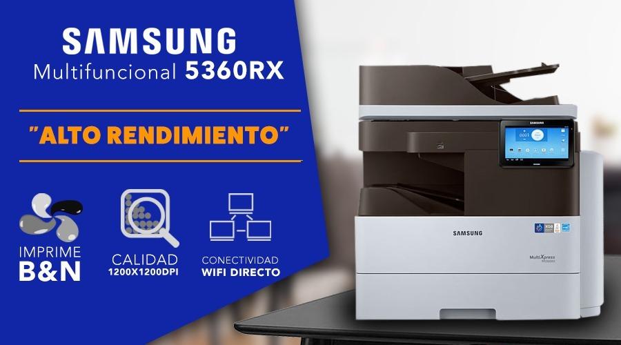 Mutifuncional Samsung 5360 La Mejor Cybercafe Centro