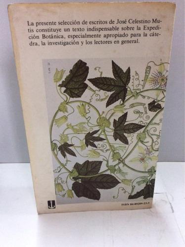 mutis y la expedición botánica. (documentos)