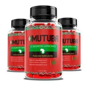 Mutuba ( 5 Potes ) Original - Envio Imediato !