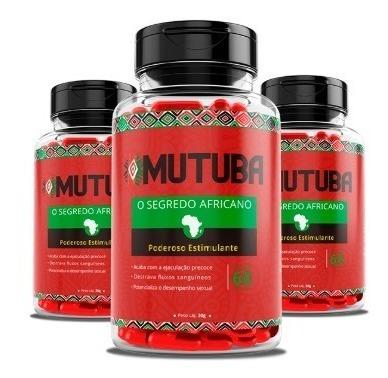 mutuba ( 3 potes ) original - envio imediato !!!