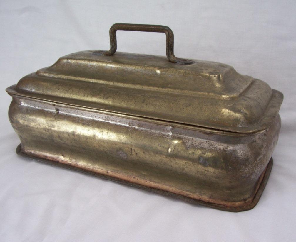Muy Antiguo Tanque De Bronce Para Cocina Económica - Leña - U$S 150 ...