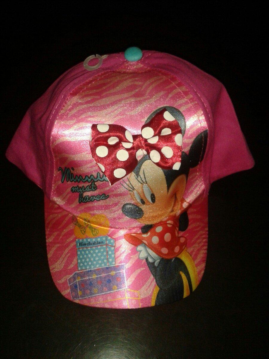 Muy Bonitas Gorras Para Niñas De Frozen Y Minnie Mouse -   120.00 en ... 5918dd63696