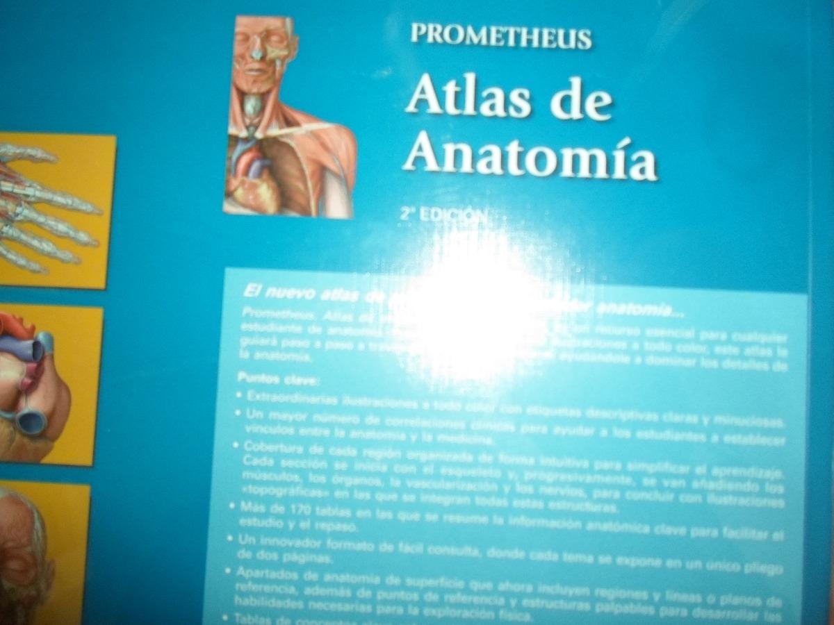 Muy Bonito Atlas De Anatomía Prometheus - $ 1.900,00 en Mercado Libre