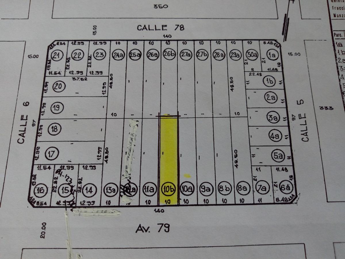 muy buen lote sobre av 79 ideal constructores