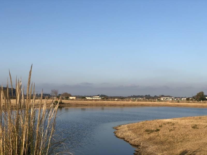 muy buen terreno a la laguna en san sebastian