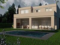 muy buena propiedad en venta en el barrio haras santa maría.  escobar.  4 ambientes con pileta.