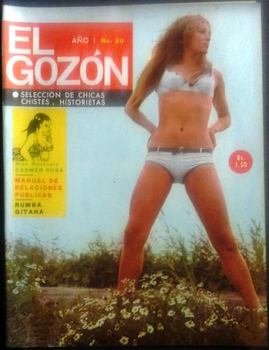 muy coleccionable revista el gozón año 1 n° 20 años sesenta