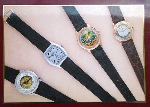 muy importante catálogo subasta relojes colección en ginebra