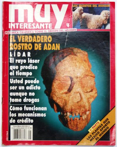 muy interesante año 10 # 8 rostro de adán el mohair el créd