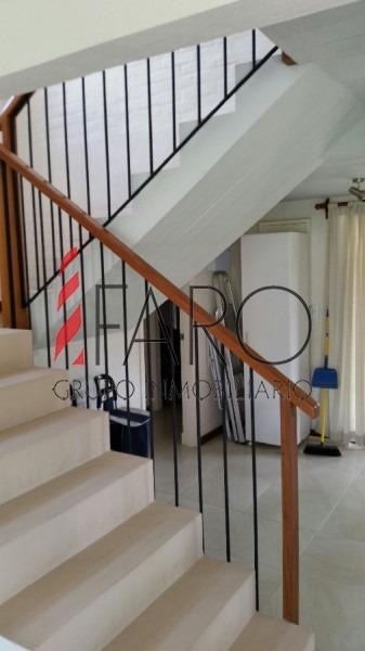 muy linda casa estilo minimalista en montoya de 4 dormitorios con parrillero-ref:36270