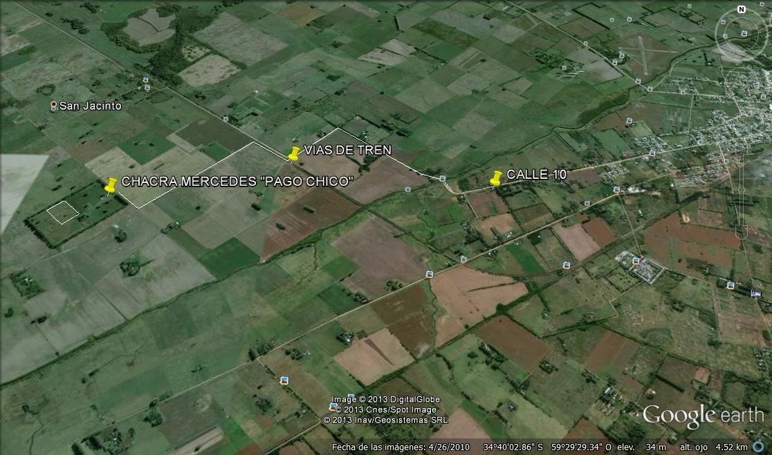 muy linda chacra/fracción en mercedes de 6 hectáreas ! !