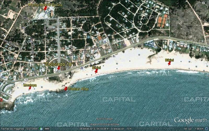 muy lindo apartamento en excelente ubicación y vista a playa montoya!-ref:25775