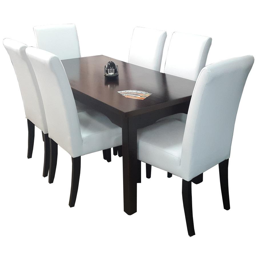 Muy lindo juego de comedor sillas elegantes y muy c modas for Sillas de comedor elegantes