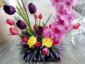 Muy Lindos Arreglos Para Graduación Estilo Orquídeas