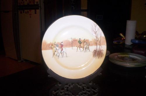 muyantiguo plato de mesa 5 (20 cm) royal doulton  cochero