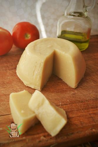 muzzarella vegana artesanal - sin lactosa. deliciosa!