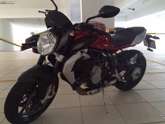 mv agusta brutale 800 cc 2014 único dono perfeito estado