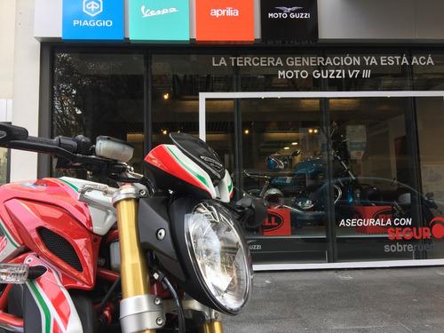 mv agusta dragster 800 rc 2017 roja usada motoplex devoto