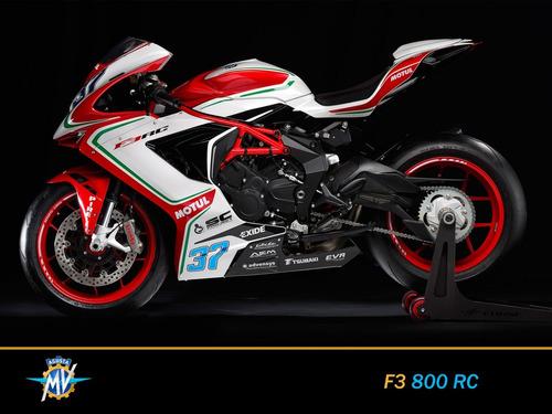 mv agusta f3 800 rc 0km 2018 nueva motos italianas