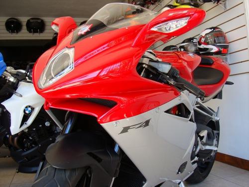 mv agusta f4 1000 modelo 2010 con 10800km