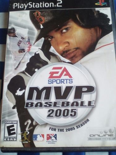 mvp baseball 2005 ea sports ps2
