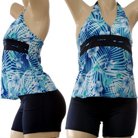 ae5d5f596cb2 Short Para Playa O Alberca Trajes Bano Bikinis Mujer - Ropa, Bolsas ...