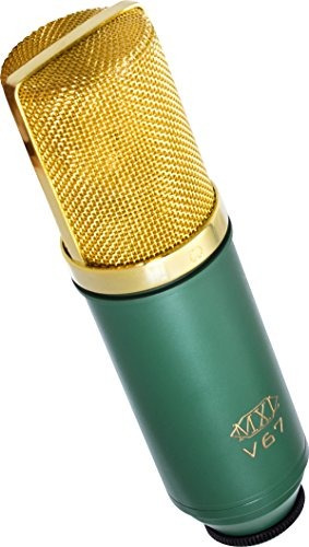 mxl v67g micrófono de condensador de cápsula grande