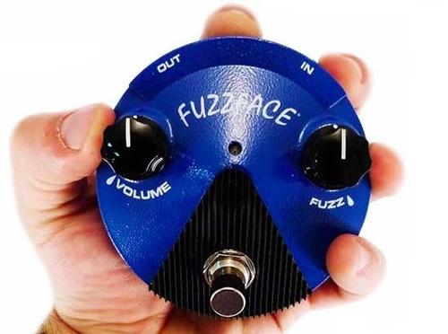 mxr dunlop silicon fuzz face mini - ffm1