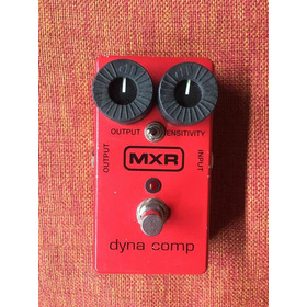 Mxr Dyna Comp(pedal Compresor) Modificado Para Mayor Ataque.