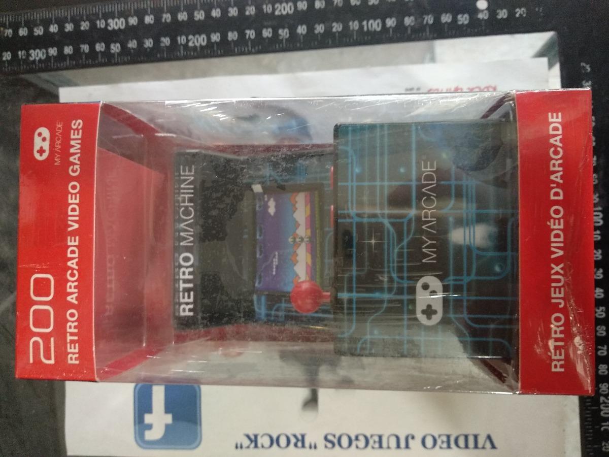 My Arcade Retro Maquinita Con Mas De 200 Juegos Clasicos 699 00