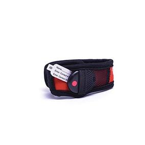 1dbdc97e3d86 My Buddy Tag Pulsera De Seguridad Para Niños Velcro-rojo