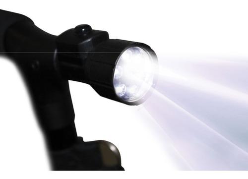 my cane bastón portátil con 4 puntos de apoyo y luz led