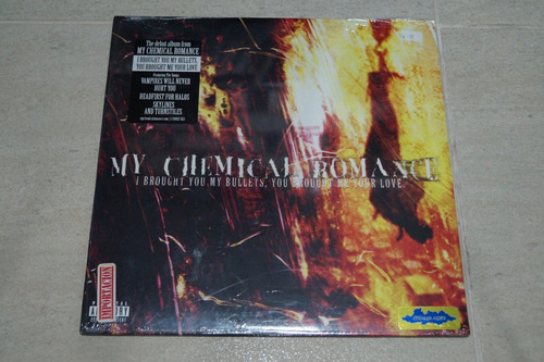 my chemical romance i brought you vinilo rock activity