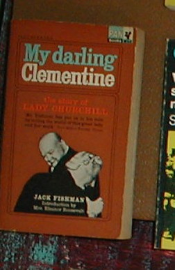 my darling clementine the story of lady churchill in english
