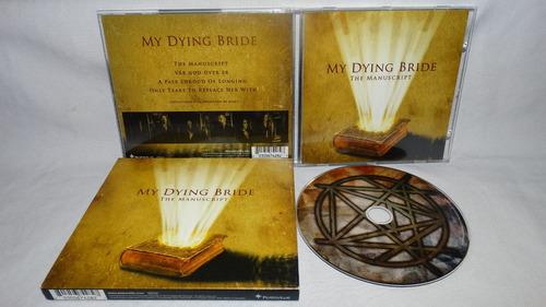 my dying bride - the manuscript (slipcase)