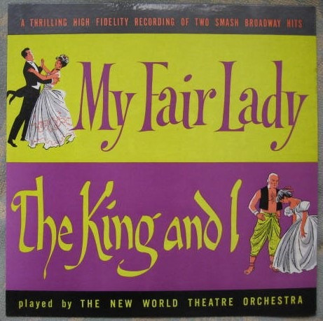my fair lady and the king and i (somerset p-2700) usa