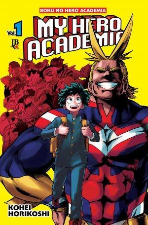 my hero academia - boku no hero -mangá - volume 1 - jbc