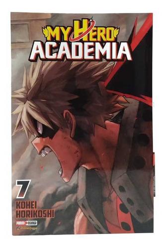 my hero academia tomo 7 manga panini original en español