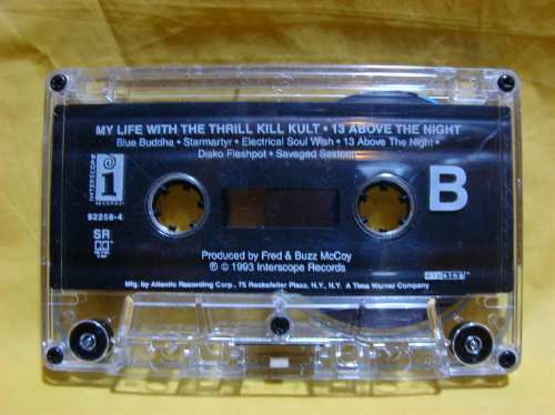 my life with the thrill kill kult 13 above the... cassette