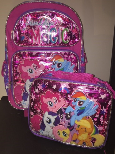 my little friendship magic back pack llantitas     $1690.00